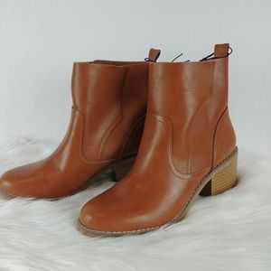 Mossimo Janna Slip On Ankle Booties Tan
